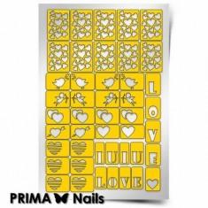 Prima Nails, Трафареты «День влюбленных»