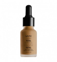 NYX PROFESSIONAL MAKEUP Тональная основа Total Control Drop Foundation - Deep Sable 18