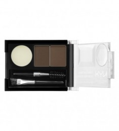 NYX PROFESSIONAL MAKEUP Тени для бровей Eyebrow Cake Powder - Dark Brown/ Brown 02