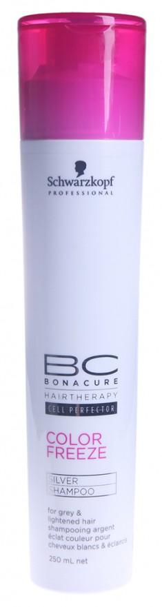 SCHWARZKOPF PROFESSIONAL Шампунь нейтрализующий с фиолетовым оттенком / BC pH 4.5 Color Freeze 250 мл