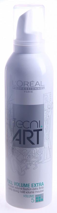 L'OREAL PROFESSIONNEL Мусс для объема нормальных непослушных волос Фулл Волюм Экстра 5 / TECNI.ART 250 мл LOREAL PROFESSIONNEL