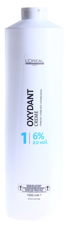 L'OREAL PROFESSIONNEL Оксидент-крем 6% (20vol) / OXYDANTS 1000 мл LOREAL PROFESSIONNEL