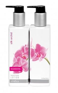 KINETICS Лосьон регенерирующий для рук и тела Шелковая орхидея 250 мл