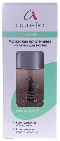 AURELIA Коктейль фруктовый питательный для ногтей / BASIC LINE 13 мл