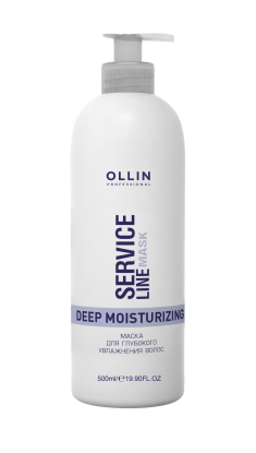 OLLIN PROFESSIONAL Маска для глубокого увлажнения волос / Deep Moisturizing Mask 500 мл