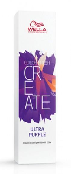 WELLA PROFESSIONALS Краска оттеночная для ярких акцентов, ультрафиолет / CF CREATE 60 мл