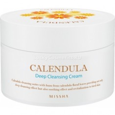 Missha Calendula Deep Cleansing Cream