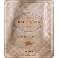 Missha Prime K Gold Snail Hydro Gel Mask