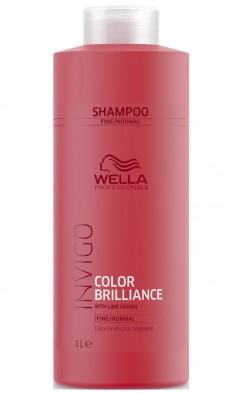 Wella Invigo Color Brilliance Шампунь для окрашенных нормальных и тонких волос 1000мл