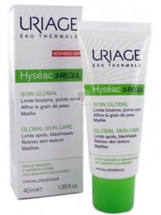 Uriage (Урьяж) Исеак 3-Regul Универсальный уход за жирной и проблемной кожей 40 мл