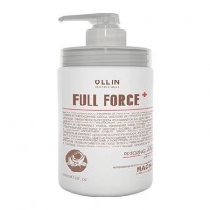 Ollin Professional FULL FORCE Интенсивная восстанавливающая маска с маслом кокоса 650мл
