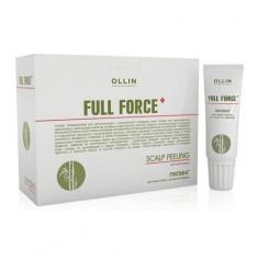 Ollin Professional FULL FORCE Пилинг для кожи головы с экстрактом бамбука 10штх15мл