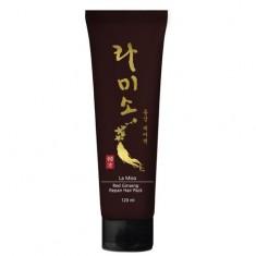 La Miso Восстанавливающая маска для волос с экстрактом красного женьшеня 120мл