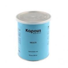 Жирорастворимый воск с ароматом шоколада в банке, 800 мл (Kapous Professional)