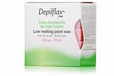 DEPILFLAX 100 Воск горячий в брикетах, розовый 500 г