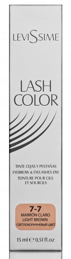 LEVISSIME Краска для бровей и ресниц, № 7.7 светло-коричневый / Lash Color 15 мл