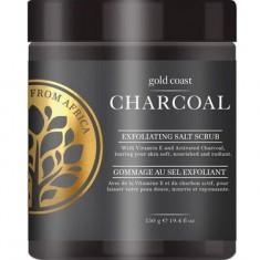 Солевой скраб для тела с древесным углем Charcoal Salt Scrub BODYCARE FROM AFRICA