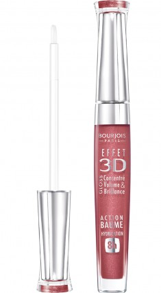 BOURJOIS Блеск для губ 03 / Effet 3D New brun rose academic