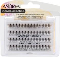 ANDREA Пучки ресниц безузелковые комбинированные черные / Perma Lash Naturals Natural Combo