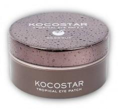 KOCOSTAR Патчи гидрогелевые для глаз Тропические фрукты, кокос / Tropical Eye Patch Coconut Jar 60 патчей