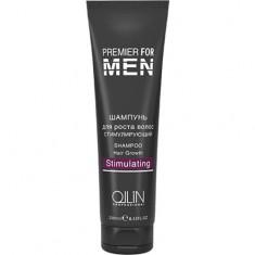 Шампунь для роста волос стимулирующий Premier For Men OLLIN PROFESSIONAL