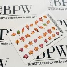 BPW.Style, Слайдер-дизайн 3D «Листья» №3d-159