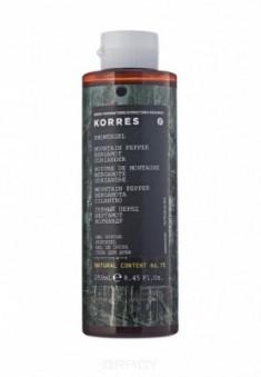 Гель для душа Korres Горный перец, бергамот, кориандр 250 мл