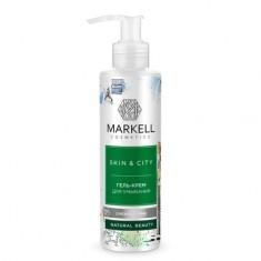Markell, Гель для умывания Skin&City «Снежный гриб», 200 мл