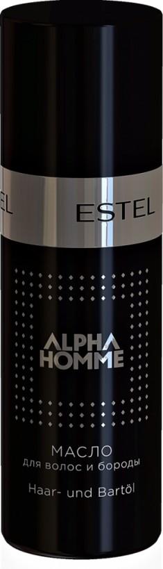 ESTEL PROFESSIONAL Масло для волос и бороды, для мужчин / ALPHA HOMME 50 мл