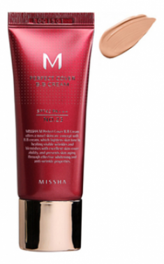 Тональный крем MISSHA M Perfect Cover BB Cream SPF42/PA+++ (No.23/Natural Beige) 20ml