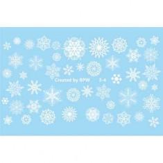 BPW.Style, Слайдер-дизайн «Белые снежинки» №3-4