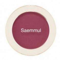 Румяна THE SAEM Saemmul Single Blusher PP02 Wild Plum 5гр