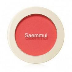 Румяна THE SAEM Saemmul Single Blusher RD01 Dragon Red 5гр