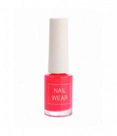 Лак для ногтей The Saem Nail Wear 04.Hot pink 7мл