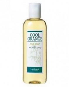 Шампунь для жирной кожи головы Lebel Cool Orange Hair Soap 200мл