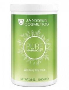 Скраб тонизирующий с экстрактом белого чая Janssen Cosmetics Sweet Temptation Well Being Body Scrub 1000 мл
