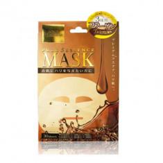 Маска для лица c тремя видами коллагена Japan Gals Pure5 Essence Premium 30 шт
