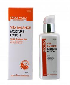 PRO YOU Professional Лосьон увлажняющий для обезвоженной кожи с витаминами / VITA BALANCE LINE 130 мл