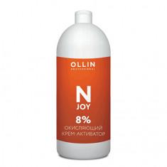 OLLIN, Окисляющий крем-активатор N-Joy 8%, 100 мл OLLIN PROFESSIONAL