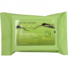 Nature Republic Jeju Sparkling Cleansing Tissue