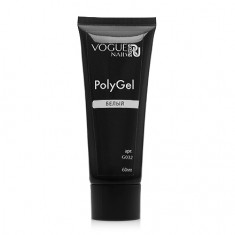 Vogue Nails, PolyGel, белый, 60 мл