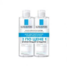 Ля Рош-Позе Мицеллярная вода Ультра для чувствительной кожи 400мл N2 дуопак La Roche-Posay