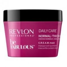 Revlon Professional Be Fabulous C.R.E.A.M. Mask - Маска для нормальных, густых волос, 200 мл