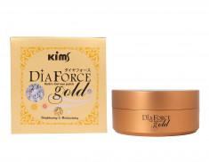 KIMS Патчи гидрогелевые Сила Золота / Dia Force Gold Hydro-Gel Eye Patch 60 шт