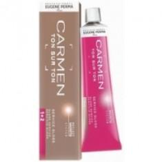 Eugene Perma Carmen Ton Sur Ton Gloss G.21 - Краска для волос с эффектом глянцевого блеска, коричневый холодный, 60 мл