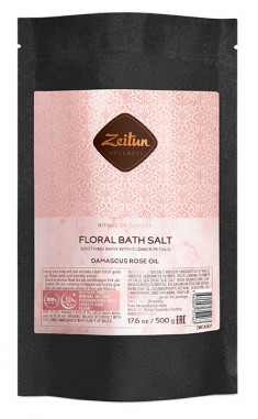 ZEITUN Соль цветочная для ванн Ритуал нежности / Caress 500 г