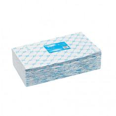 White line, Полотенце 35х70, голубое, 50 шт.
