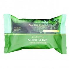 отшелушивающее мыло с экстрактом фрукта нони juno yeojung noni peeling soap