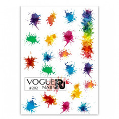 Vogue Nails, Слайдер-дизайн №202