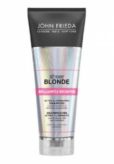 Шампунь для придания блеска светлым волосам John Frieda Sheer Blonde Brilliantly Brighter 250 мл